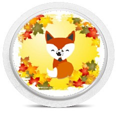 Freestyle Libre Sensor Sticker - Fox