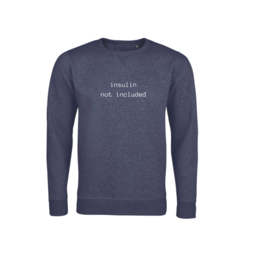 Sweater - Insulin not included Navy