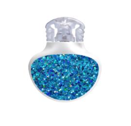 Medtronic Guardian Sticker - Blue Glitter