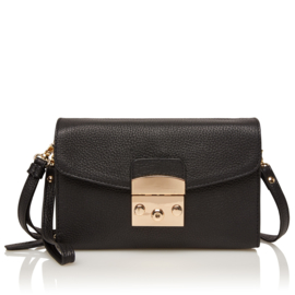 Sweet Collections Mint Black Clutch
