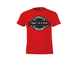 T-shirt - Type one of a Kind Red