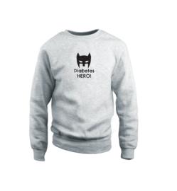 Sweater - Diabetes Hero Grau