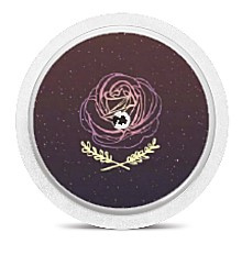 Freestyle Libre Sensor Sticker - Rose