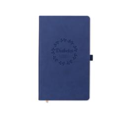 Notebook - Diabetes krabbels Blue