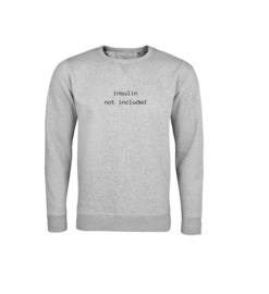 Sweater - Insulin not included Grau
