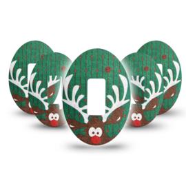 ExpressionMed Christmas Reindeer Dexcom G5 Fixtape