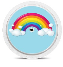 Freestyle Libre Sensor Sticker - Rainbow