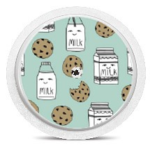 Freestyle Libre Sensor Sticker - Milk & Cookies