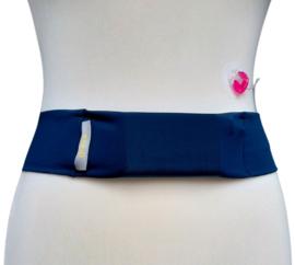 Comfort belt pompband Steel Blue