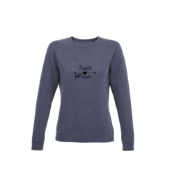 Sweater - Super T1D mom Navy