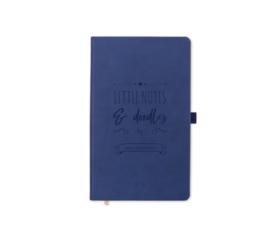 Notizbücher - Little notes & doodles Blue