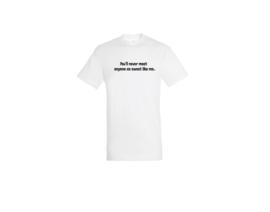 T-shirt - Sweet like me Weiß