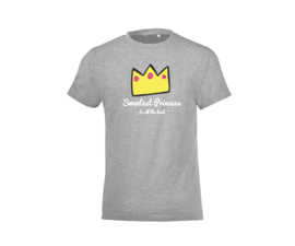 T-shirt - Sweetest Princess Grey