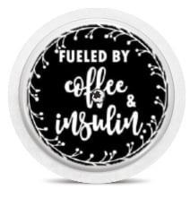 Freestyle Libre Sensor Sticker - Coffee & Insulin