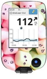 Freestyle Libre Reader Sticker - Marshmellow