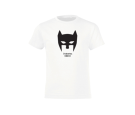 T-shirt - Diabetes Hero White