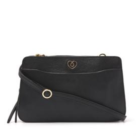 Sweet Collections Mint Black Shoulder Bag