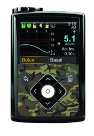 Medtronic 640G/670G Sticker - Camouflage