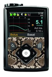 Medtronic 780G/670G/640G Sticker - Snake