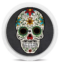 Freestyle Libre Sensor Sticker - Skull
