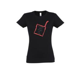 T-shirt - Juice box Black