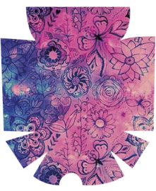 Omnipod Sticker - Fantasy Flowers