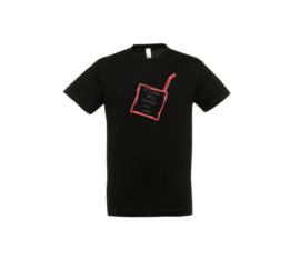 T-shirt - Juice box Schwarz