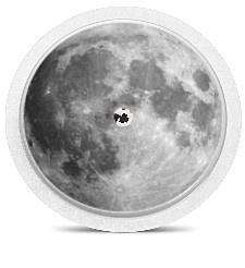 Freestyle Libre Sensor Sticker - Moon