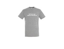 T-shirt - Sweet like me Grau