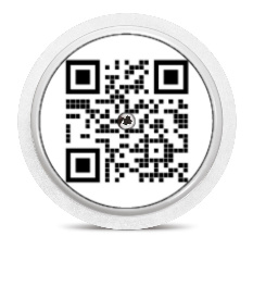 Freestyle Libre Sensor Sticker - QR-code