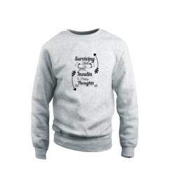 Sweater - Surviving Grau