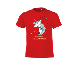 T-shirt - Unicorn Red