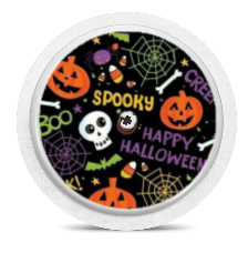 Freestyle Libre Sensor Sticker - Halloween