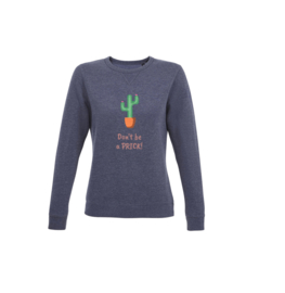 Sweater - Don't be a prick Navy
