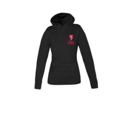Hoodie - Powered by Insulin Black