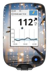 Freestyle Libre Reader Sticker - Summer Air