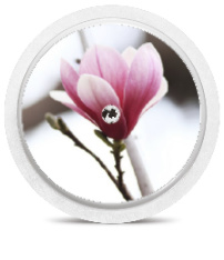 Freestyle Libre Sensor Sticker - Pink Flower