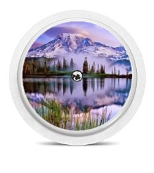 Freestyle Libre Sensor Sticker - Painted Landscape
