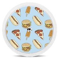 Freestyle Libre Sensor Sticker - Fastfood