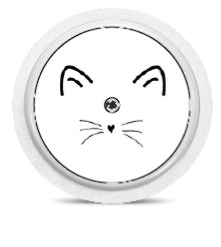 Freestyle Libre Sensor Sticker - Kitty