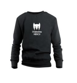 Sweater - Diabetes Hero Schwarz