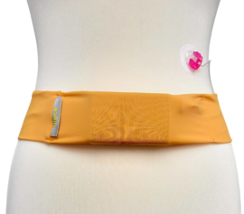Comfort belt pompband Yellow