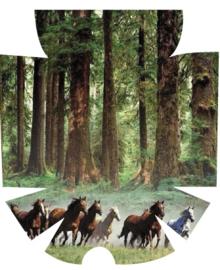 MyLife Pod Sticker - Running horses