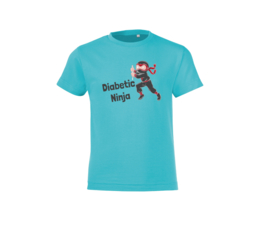 T-shirt - Diabetic Ninja Blue