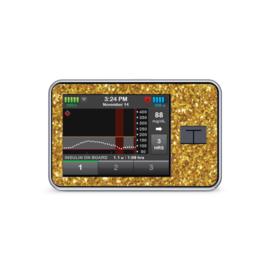 Tandem Tslim x2 Sticker - Gold Glitter