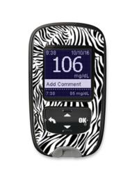 Accu-Chek Guide Sticker - Zebra