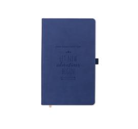 Notebook - Let new adventures begin Blue