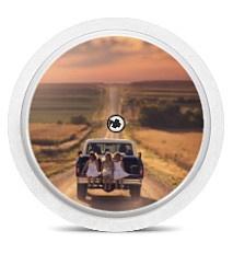Freestyle Libre Sensor Sticker - Roadtrip