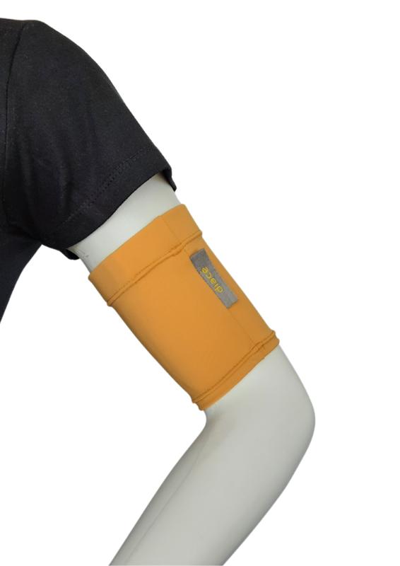 Comfort armband Yellow