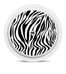 Freestyle Libre Sensor Sticker - Zebra